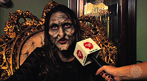 """Behind the scenes with Clare on """"Trick 'r Treat"""""""