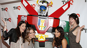 Exclusive Interview: Clare Grant gets her geek on for VOLTRON: DEFENDER OF THE UNIVERSE
