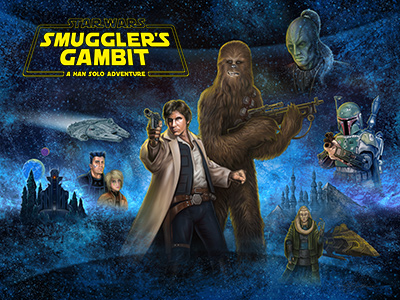 "Clare as Princess Leia in ""Smuggler's Gambit"""
