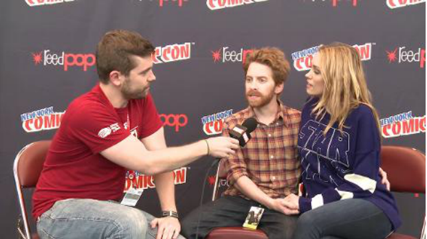 NYCC 2013: Seth Green, Clare Grant Interview with MARVEL