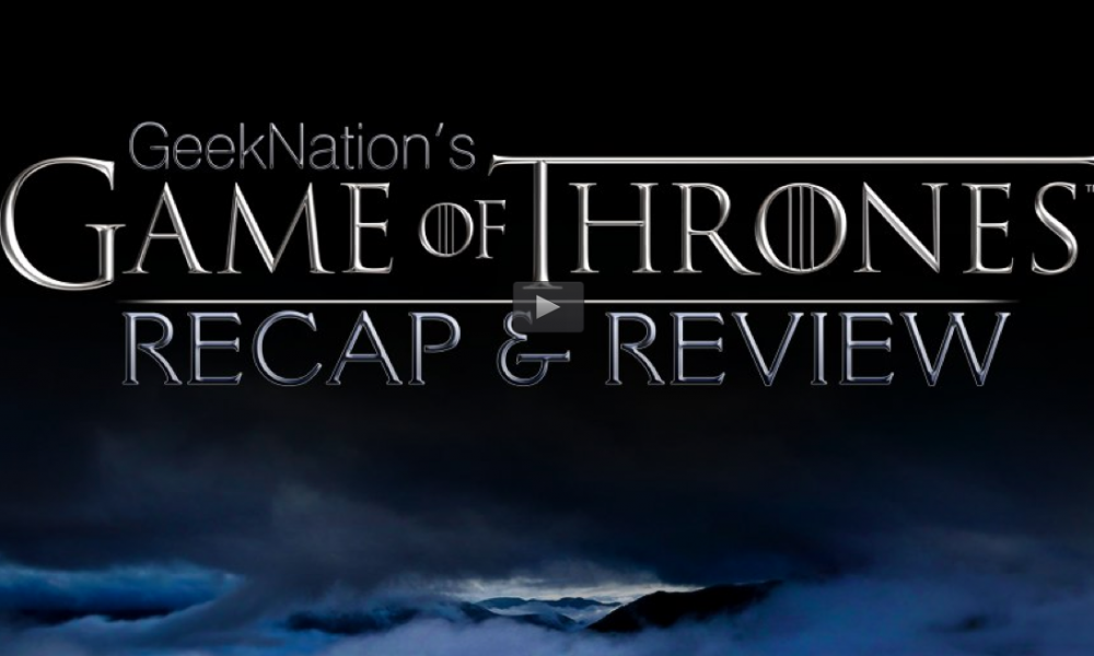 "Clare on GeekNation's ""Game of Thrones Podcast"""