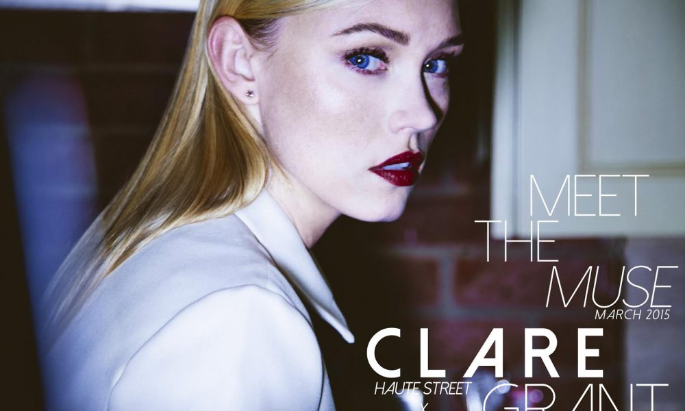 "Clare in ""The MUSE Diaries"" March Edition"