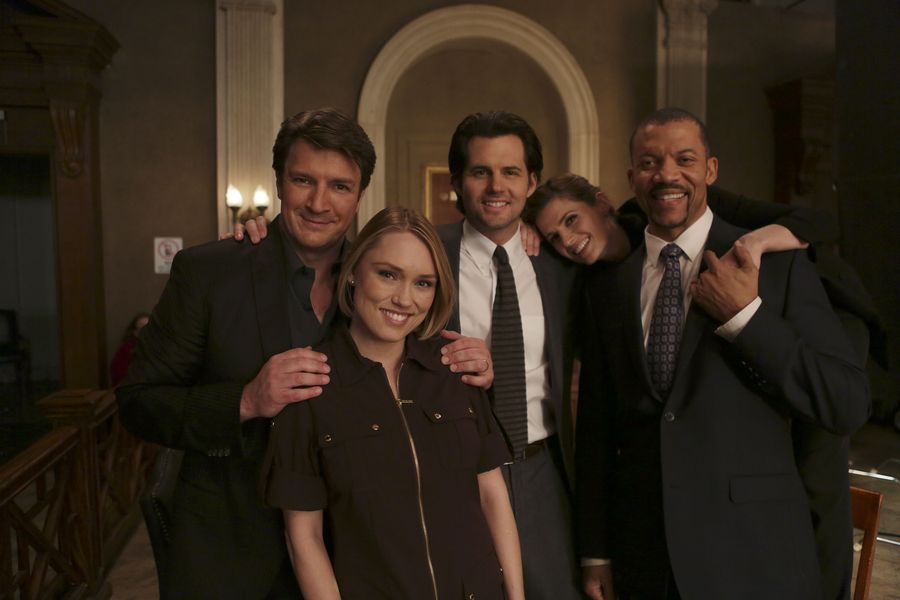 "Clare Guest Stars on ""CASTLE"" Feb 14th"