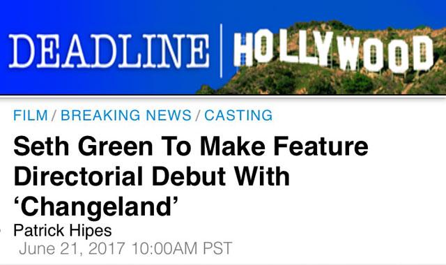 "Clare's new film ""Changeland"" announced!"