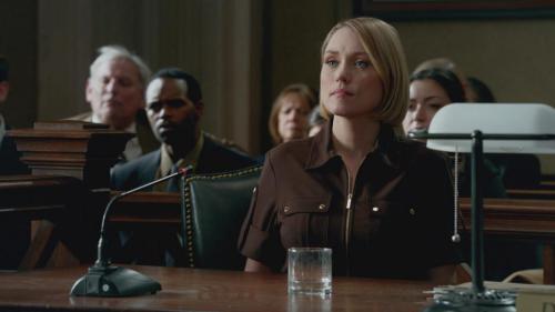 Clare Grant in ABC's Castle