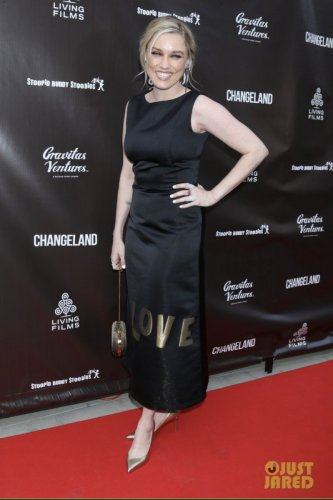Clare Grant at the Changeland premiere