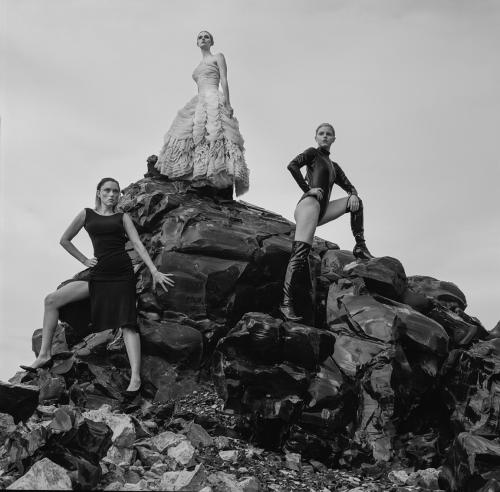 Clare Grant, Ana Mulvoy Ten & Lydia Hearst for Tyler Shields