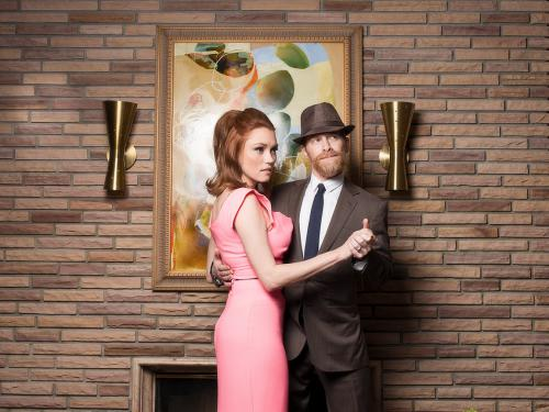 Clare Grant and Seth Green for Tyler Shields