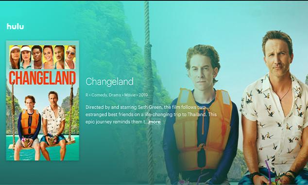 "Clare's film ""Changeland"" now on HULU"
